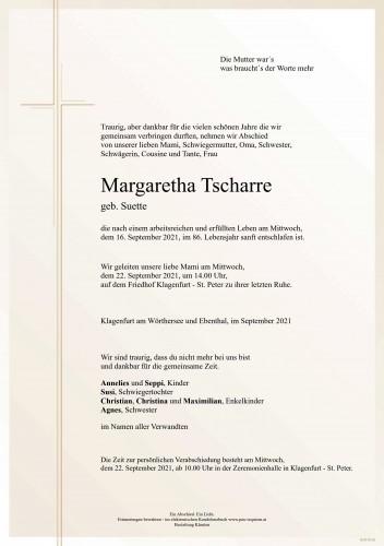 Margaretha Tscharre