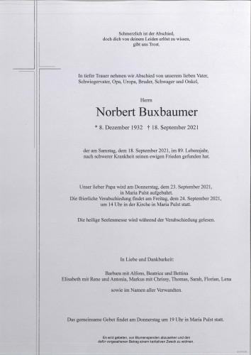 Norbert Buxbaumer