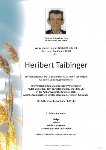 Heribert Taibinger