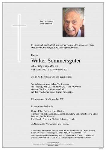 Walter Sommersguter