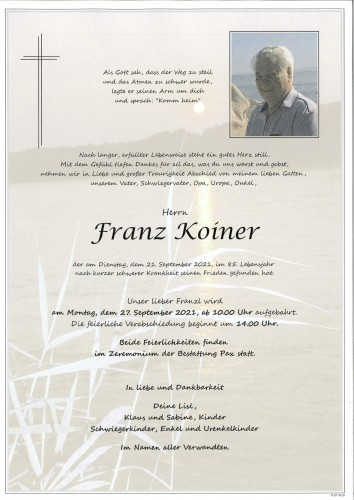Franz Koiner
