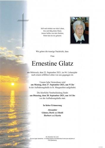 Ernestine Glatz