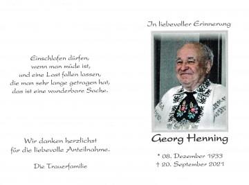 Georg Henning