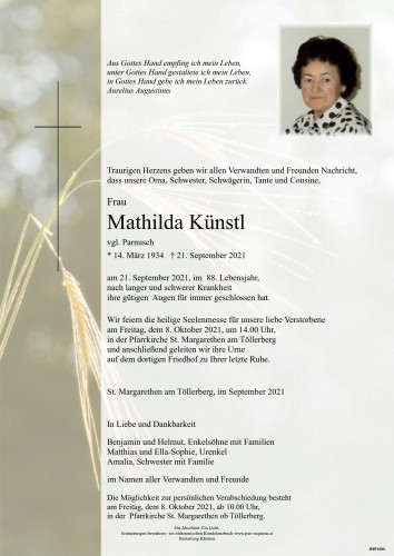Mathilda Künstl