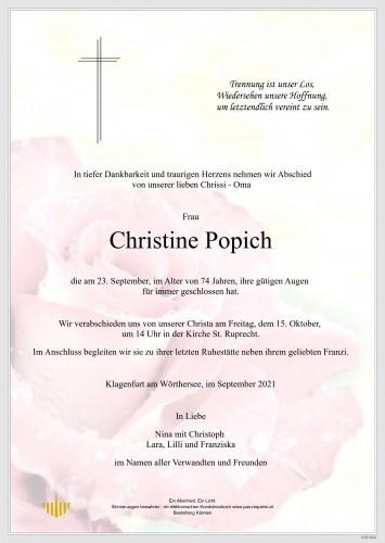 Christine Popich