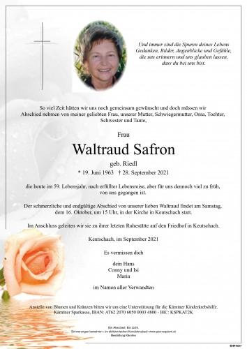 Waltraud Safron