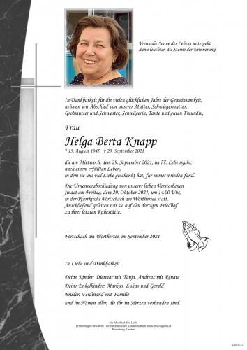 Helga Knapp
