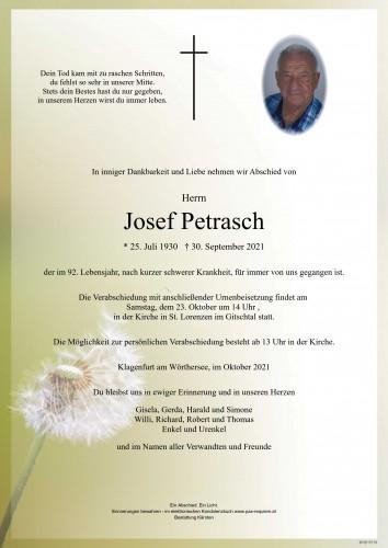 Josef Petrasch