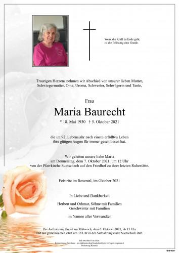 Maria Baurecht