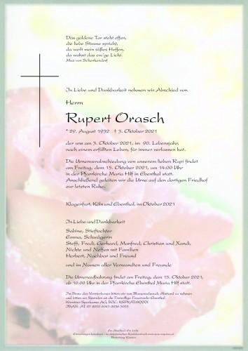 Rupert Orasch