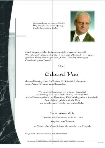 Eduard Paul