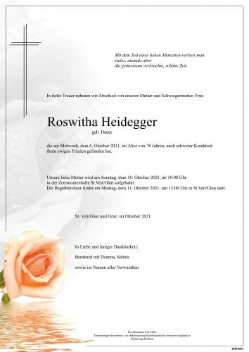 Roswitha Heidegger