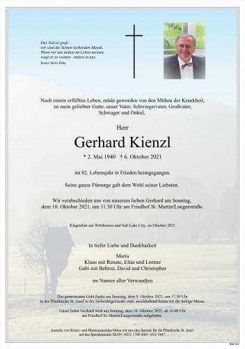 Gerhard Kienzl