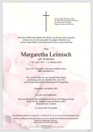 Margaretha Leimisch