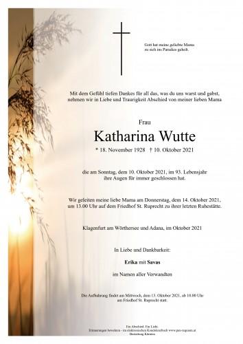 Katharina Wutte