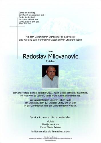 Radoslav Milovanovic