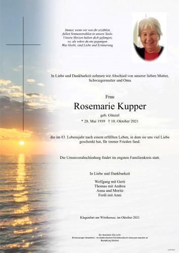 Rosemarie Kupper