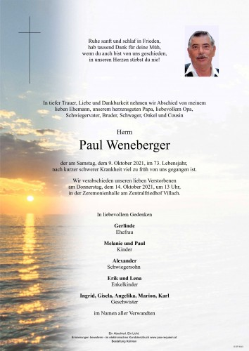 Paul Weneberger