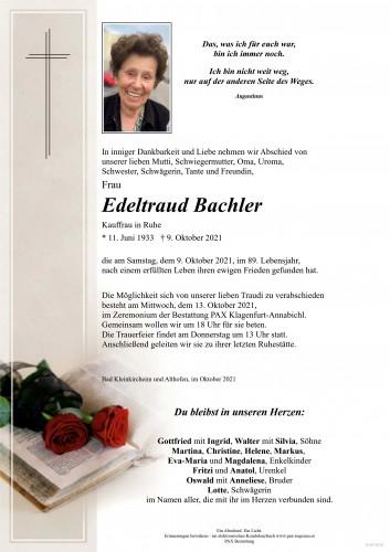 Edeltraud Bachler