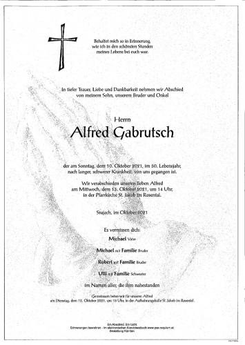 Alfred Gabrutsch