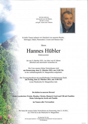 Hannes Hübler