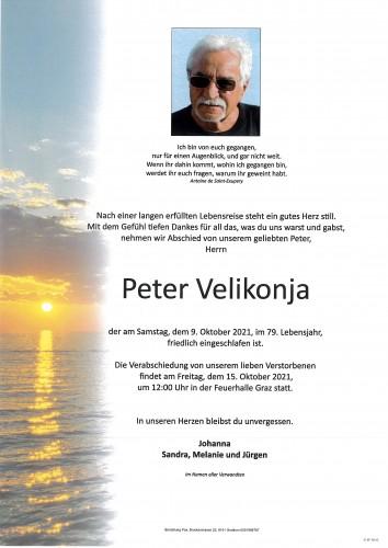 Peter Velikonja