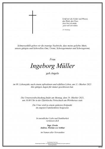 Ingeborg Müller