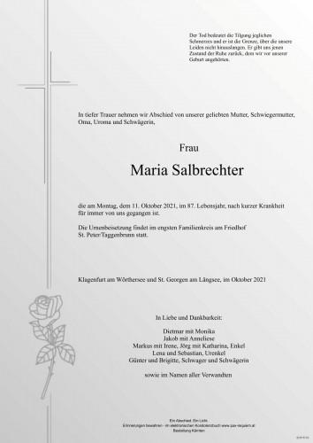 Maria Salbrechter