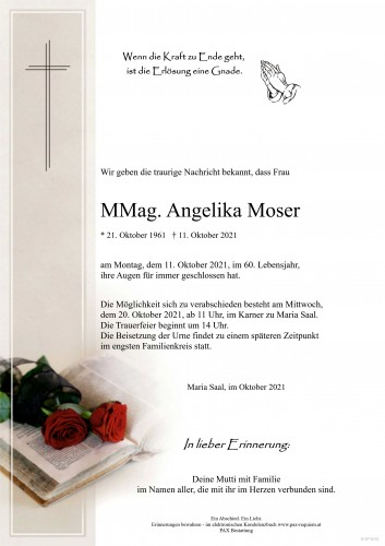 MMag. Angelika Moser