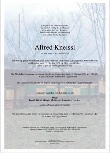 Alfred Kneissl
