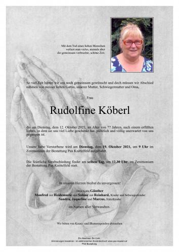 Rudolfine Köberl