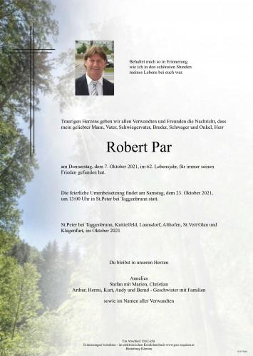 Robert Par