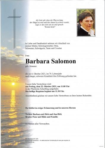 Barbara Salomon