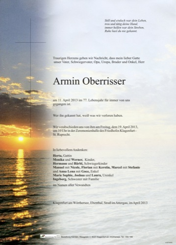 OBERRISSER Armin