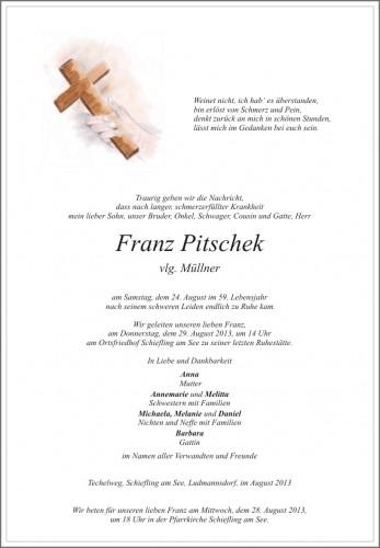 Franz Pitschek