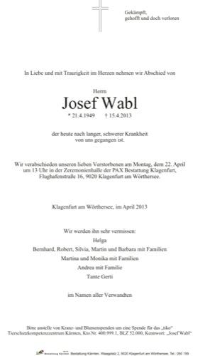 WABL Josef