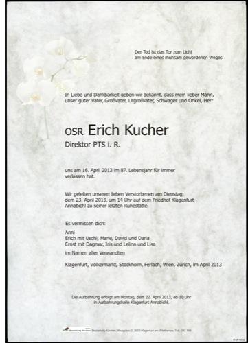 KUCHER Erich