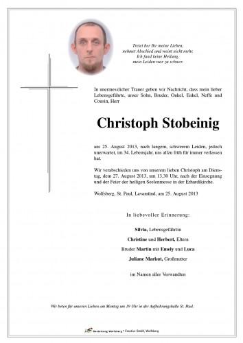 Christoph Stobeinig