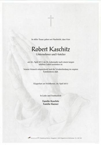 KASCHITZ Robert