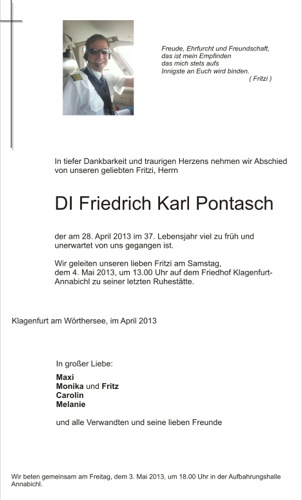 PONTASCH Friedrich