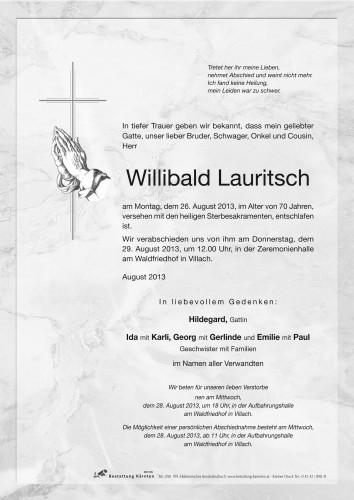 Willibald Lauritsch