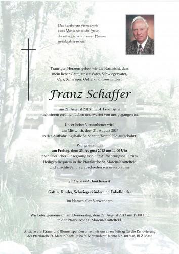 Franz Schaffer