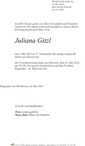 GITZL Juliana