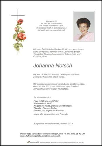 NOTSCH Johanna