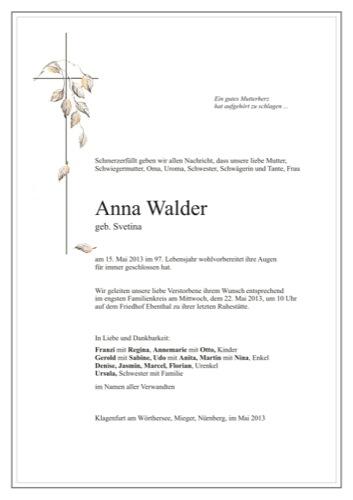 WALDER Anna