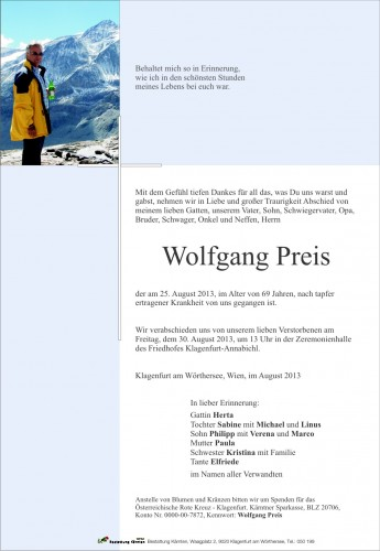 Wolfgang Preis