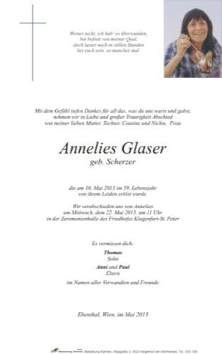 GLASER Annelies