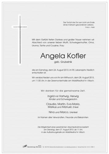 Angela Kofler
