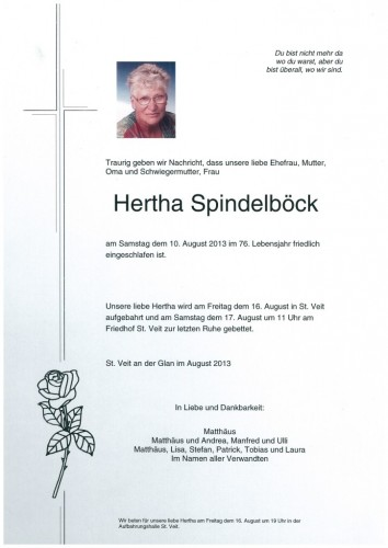 Hertha Spindelböck