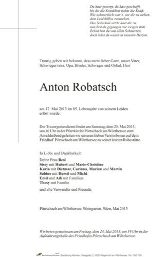 ROBATSCH Anton